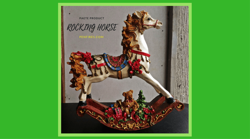 rocking horse christmas decor