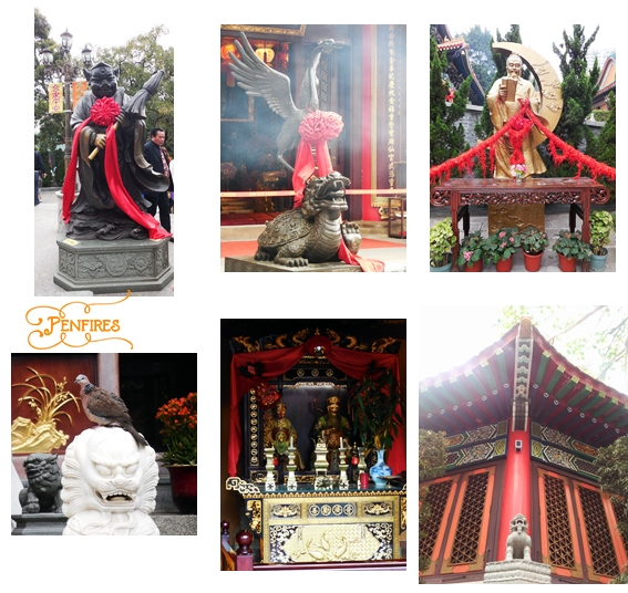 Wong Tai Sin Temple Statues and Symbols