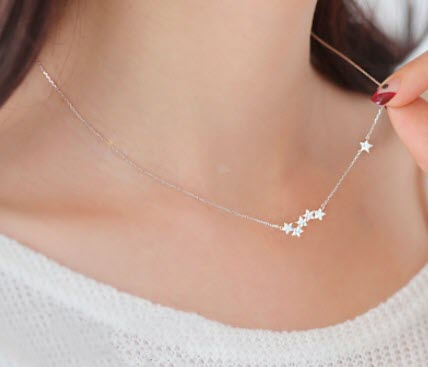 ali express star necklace