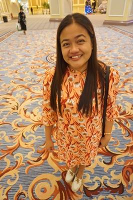 dress matching carpet