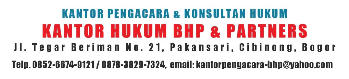 Pengacara Perceraian di Jakarta (BHP & Partner)