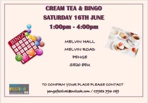 Cream Tea & Bingo