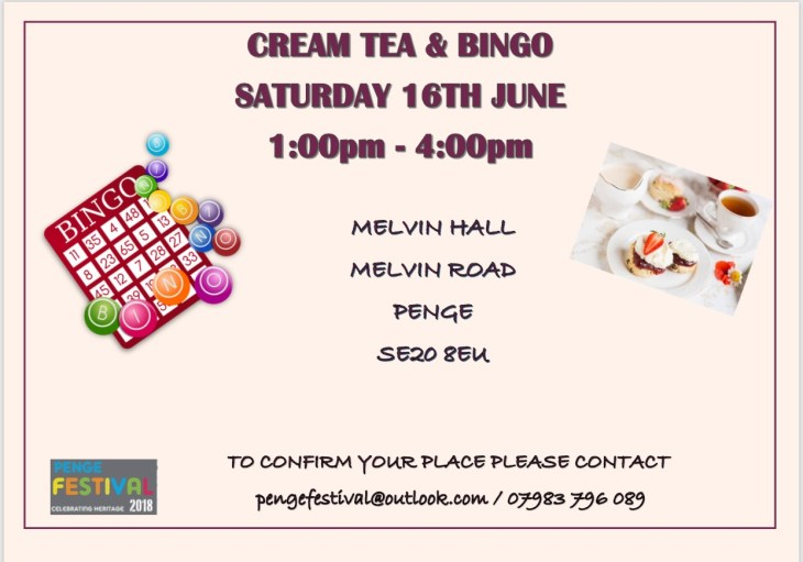 Cream Tea & Bingo