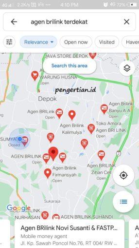 Menggunakan Google Maps