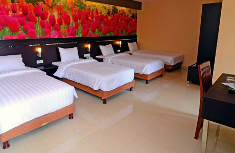 Salah satu kamar di Bess Resort Waterpark & Convention (sumber: agoda.com)