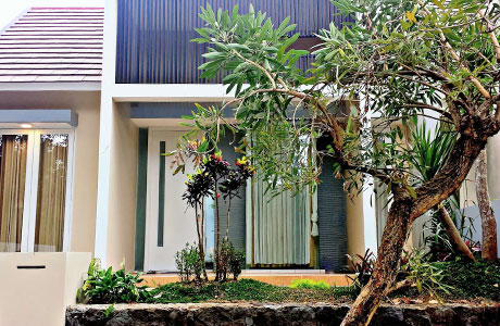 Fasad Riverside Speedrank vacation home (sumber: airbnb.com)