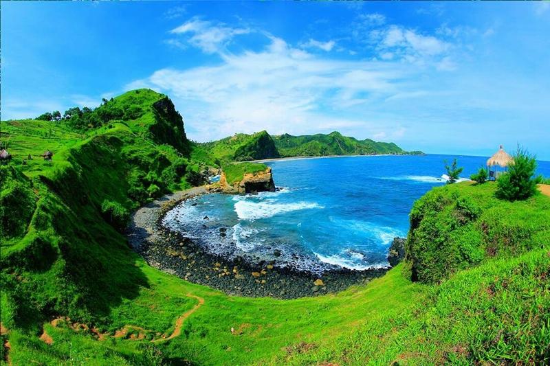 Pantai Menganti,Kebumen Jawa tengah Indonesia
