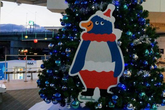 うみの杜水族館のキャラクターペンギンの「モーリー」