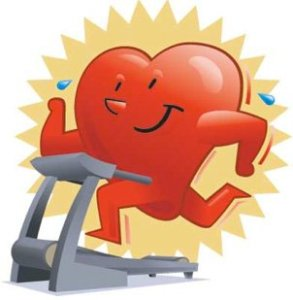 heart on treadmill