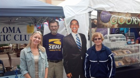 Sarah, Bob, Barack and Anne-Marie
