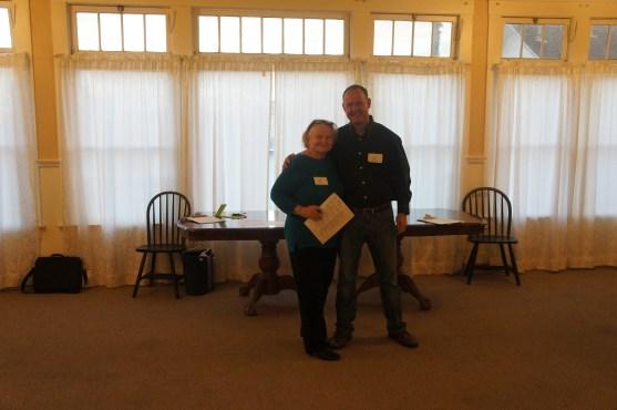 Ruth Rollins & Ed Harris