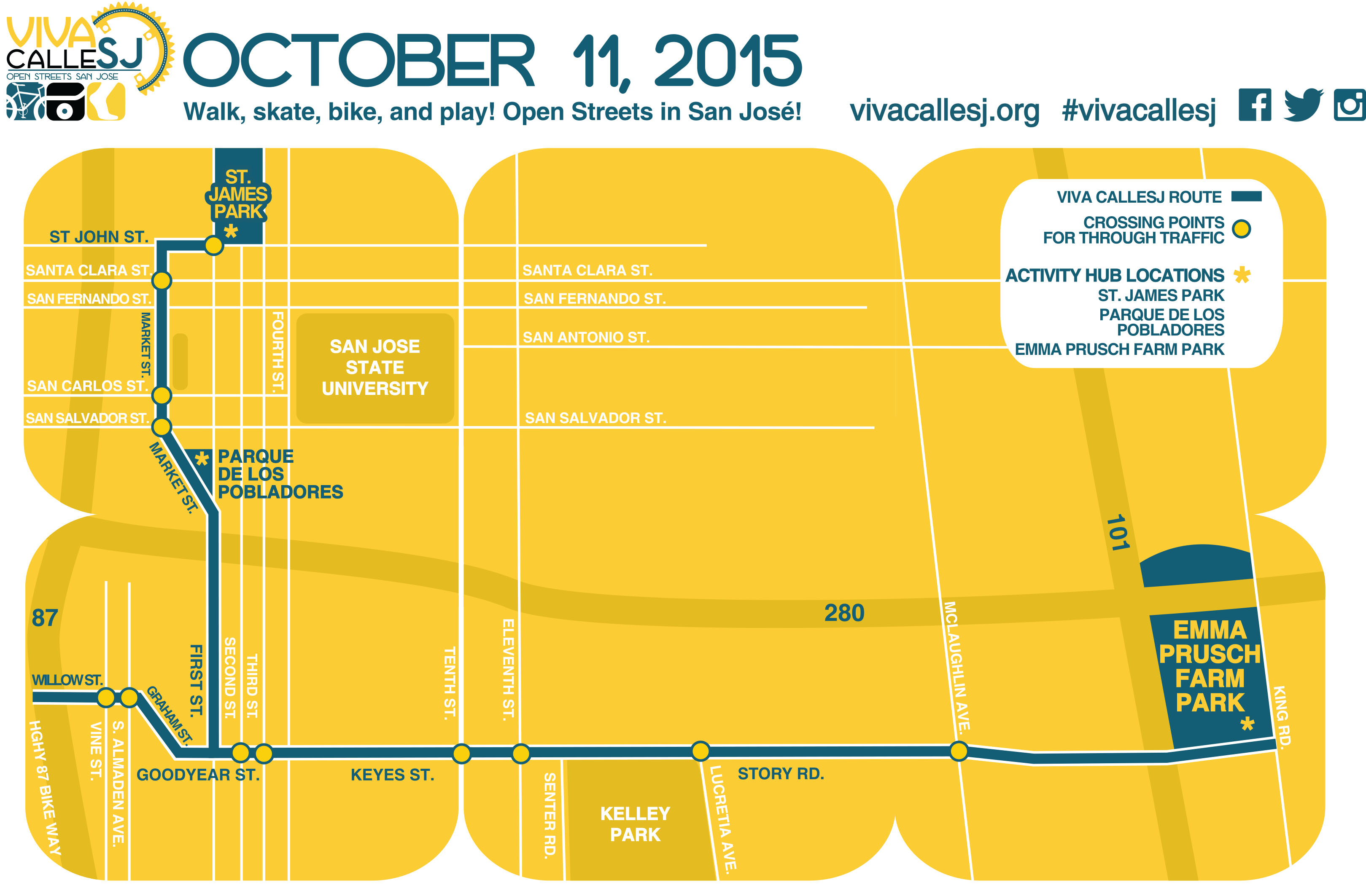 Weekly Roundup: VTA Service Changes, Car-Free Streets in