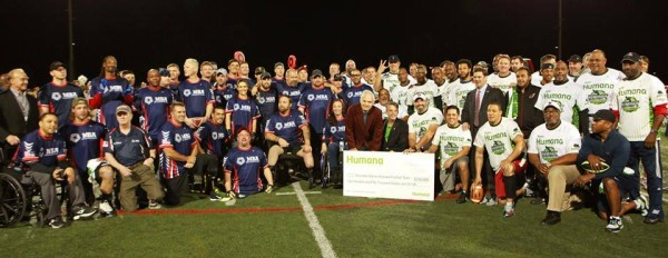 Wounded Warriors Football Team