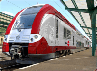 CalTrain Electric Train