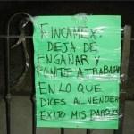 Protesta Fincamex 02-02-10