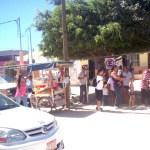 Piden padres de familia Retirar vendedores callejeros