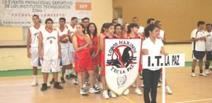 Lobos Marinos del Tec La Paz se encuentran listos en futbol y basquetbol para la etapa regional que arranca este martes.