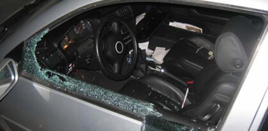 Ola de cristalazos a automóviles en Balandra y Bellavista