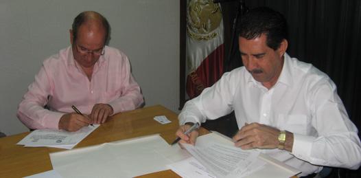 Firman convenio de colaboración las universidades de BCS y de Morelos