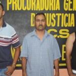 Jesús Inés Amarillas Arce, Juan Guillermo Sánchez Murillo, y Jorge Argenis Carrasco López.