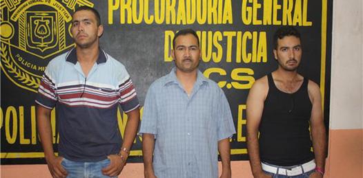 Efectuó SIE captura de presuntos narco-vendedores