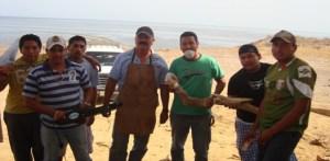 El ITESME imparte el taller  de tallado de maderas muertas, impartido por el profesor Silvestre Lucero Amador.