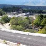 El gobernador Narciso Agúndez Montaño inauguró el boulevard y puente de acceso a la comunidad de Santiago, obras en las cuales se invirtieron 71 millones de pesos.