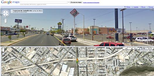Ya está La Paz en Google Street View