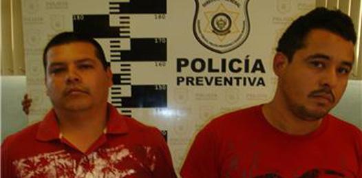 Interceptados por municipales cargando bolsas de droga
