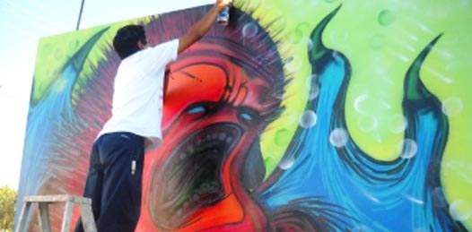 El grafiti, el lenguaje libre de las calles
