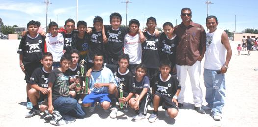 Definidos los campeones del futbol infantil