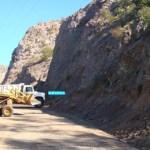 A gestión de la delegación de la Heroica Mulegé se rehabilitó el área del cerro del Vigía, por obstruir con derrumbes el paso de la carretera Transpeninsular (Enrique Montaño).