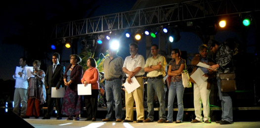 Entregan Premios Regionales y Estatales  Ciudad de La Paz 2010