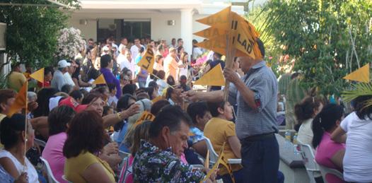 LAD toma protesta a su Libre Asociación Democrática