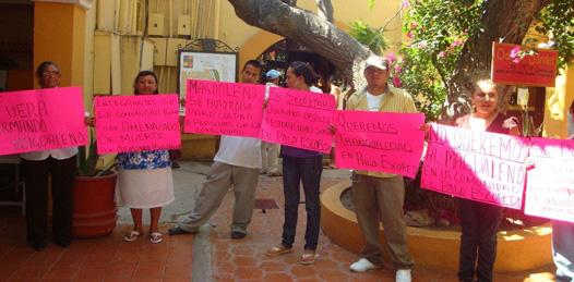 Repudian en Palo Escopeta a un peligroso invasor