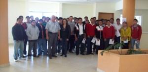 80 jovenes asistieron a su reclutamiento para la clase 1992 para obtener su precartilla militar. ( Javier Castillo C. )