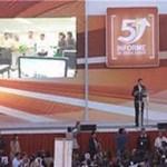 """""""Once millones en total"""" fue el costo el evento del informe, respondió el contralor del estado, Román Rangel, el día de su comparecencia ante el Congreso del Estado."""