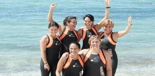 Mujeres cruzarán a nado el golfo de California
