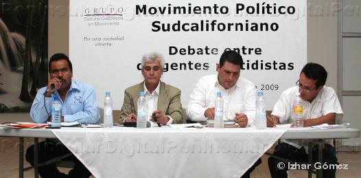 Debate entre dirigentes estatales del PRD, PAN Y PRI