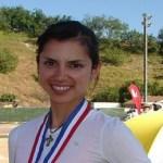Fabiola Ayala Soto se agenció la medalla de oro en salto del evento internacional de atletismo en Estados Unidos.