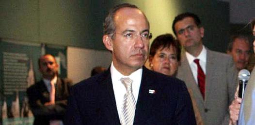 Visita hoy el Estado el Presidente Calderón