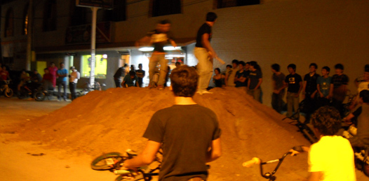 Los bikers, en busca de su propio espacio