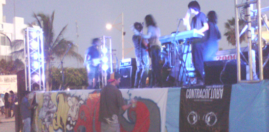 Con rock y arte callejero finaliza el Foro de Contracultura