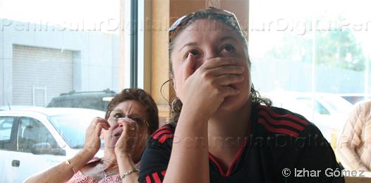 México vs Uruguay en el AppleBee´s