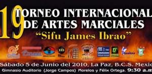 Todo se encuentra listo para la realización de la 19 edición del Torneo Internacional de Artes Marciales Sifu James Ibrao 2010