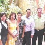 """Autoridades encabezadas por la señora Isabel Miranda de Wallace, que estuvieron presentes en el primer foro """"La participación ciudadana activa en la prevención y atención a víctimas del Delito"""" (Lupita Gómez)"""