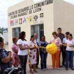 El CDC tuvo un costo de 992 mil 219 pesos y fue financiado con recursos de los tres órdenes de gobierno, así como del Fideicomiso de Obras de Infraestructura Social (FOIS).
