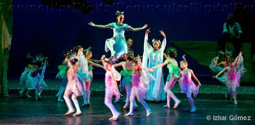 Peter Pan adaptada para la danza