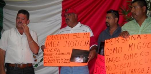 Acusan a jefe policiaco de brutal agresión y amenazas de muerte