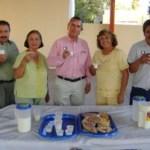 Miguel Angel Luna Velázquez, gerente de LICONSA, durante jornada de incorporación al programa de Liconsa de jubilados y pensionados.